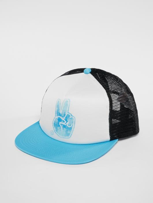 NEFF Trucker Cap Peace blue