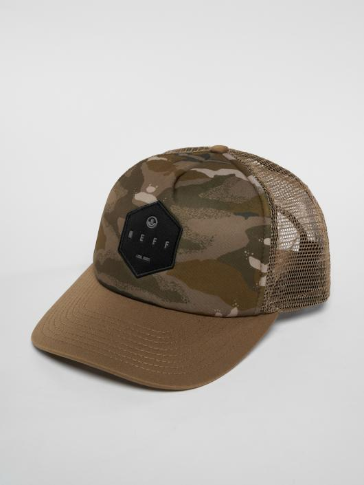 NEFF Trucker Cap Hot Tub camouflage