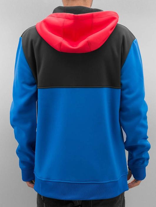 NEFF Zip Hoodie Flint Shredder modrý
