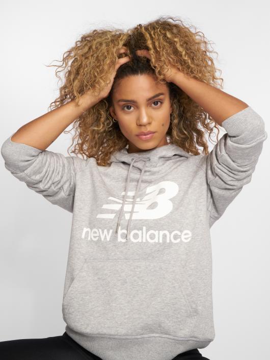 New Balance Hoody WT83563 grijs