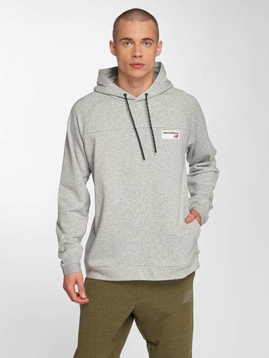 New Balance   MT81531 gris Homme Sweat capuche 464510 345caec9ccdc