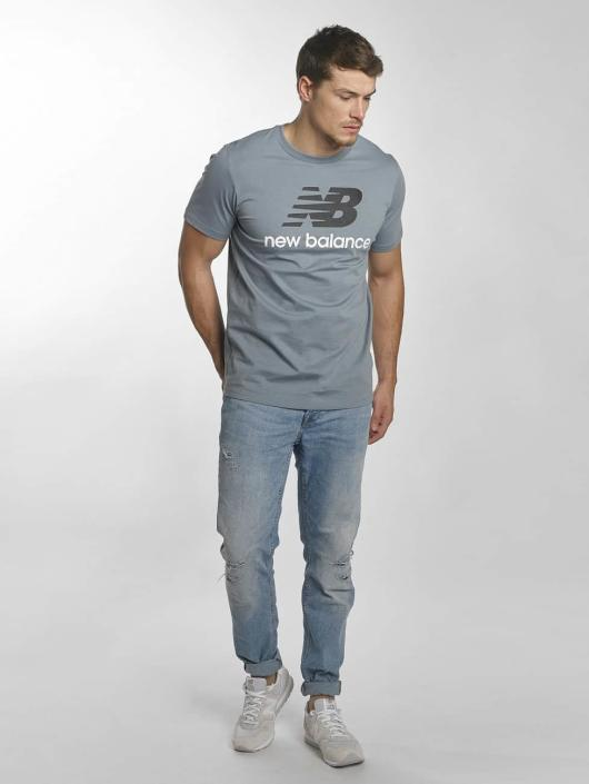 New Balance T-Shirt MT73587 Essentials bleu