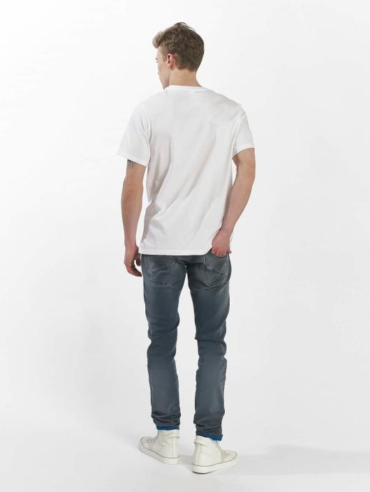 New Balance T-Shirty MT73581 bialy