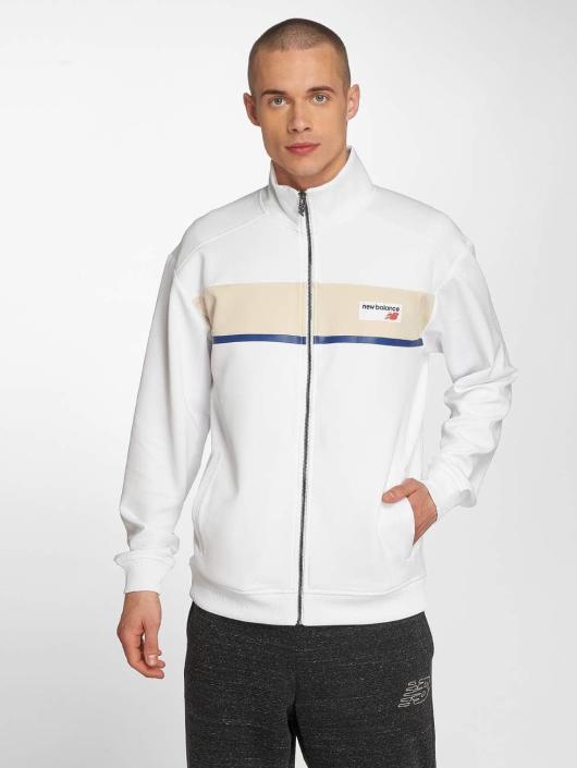 acheter populaire 330f3 c18dc New Balance MJ81551 Athletics Track Jacket White