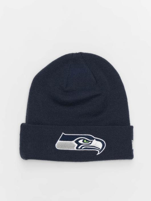 New Era Beanie NFL Team Essential Seattle Seahawks Cuff blau