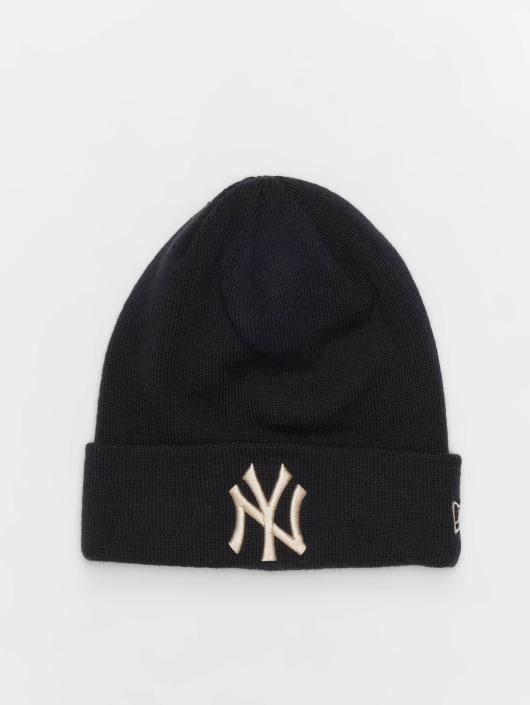 New Era Beanie MLB League Essential New York Yankees Cuff blauw
