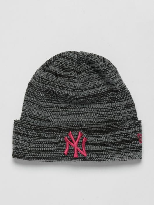 a63c1a70 New Era MLB Cuff New York Yankees Beanie Grey/Beetroot Purple