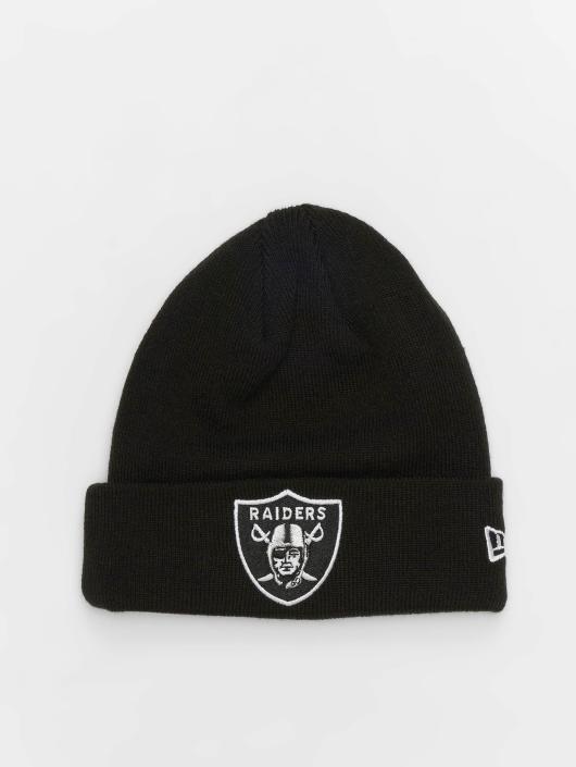 New Era Beanie NFL Team Essential Oakland Raiders Cuff schwarz