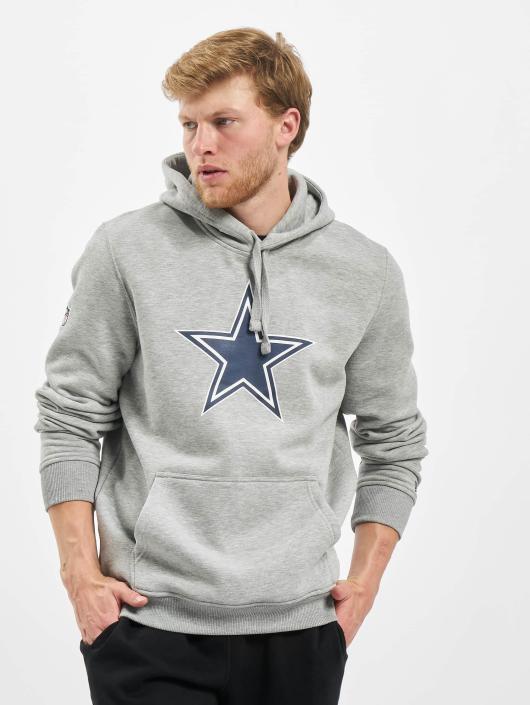 New Era Bluzy z kapturem Team Logo Dallas Cowboys szary