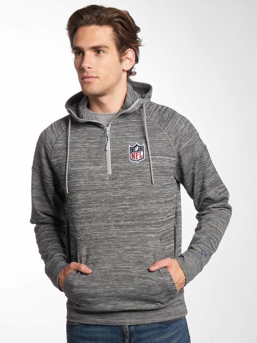 New Era Bluzy z kapturem NFL Generic Logo Shield szary