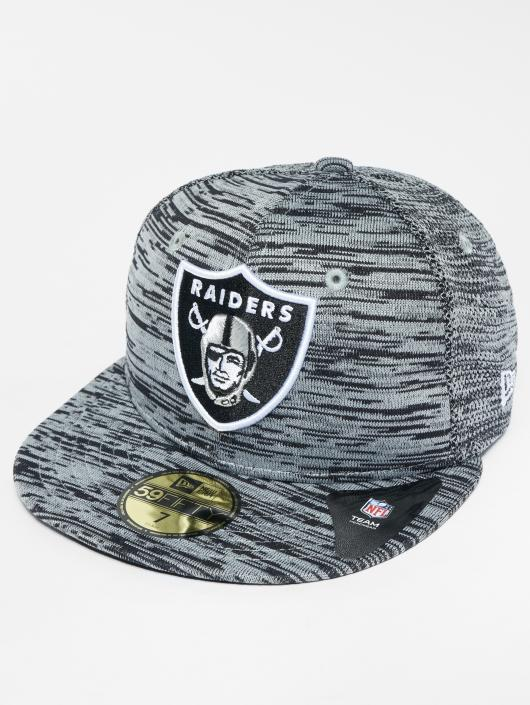8d5d48c3a03 ... New Era Casquette Fitted NFL Oakland Raiders gris ...