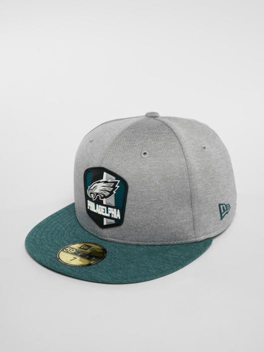 New Era Casquette Fitted New Era NFL Philadelphia Eagles 59 Fifty gris