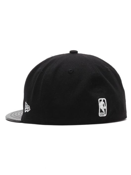 New Era Fitted Cap Team Pu Canvas Brooklyn Nets èierna