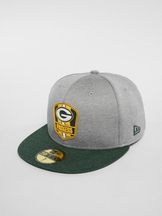 New Era Fitted Cap NFL Green Bay Packers 59 Fifty grå