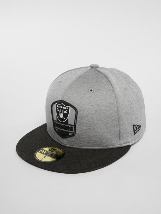 New Era Fitted Cap NFL Oakland Raiders 59 Fifty grau