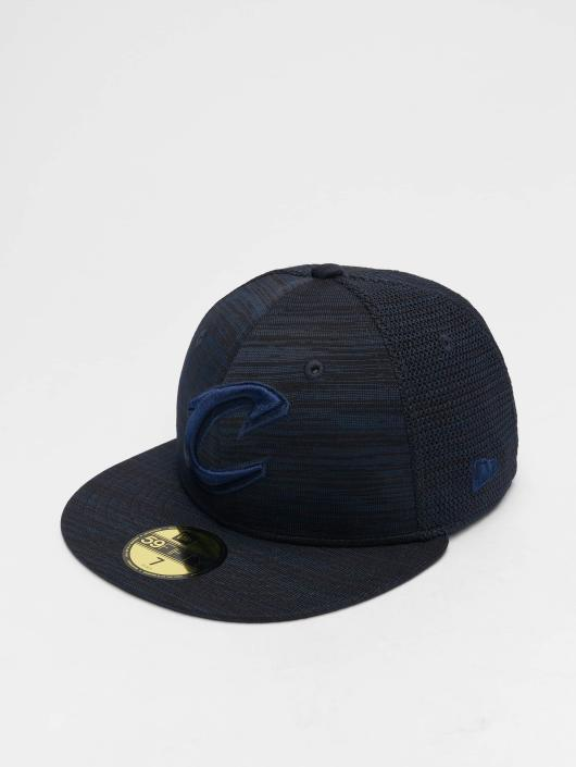 New Era Fitted Cap NBA Engineered Fit Cleveland Cavaliers 59 Fifty modrá