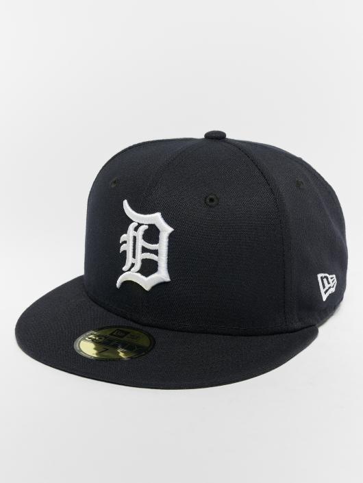 New Era Fitted Cap MLB Acperf Detroit Tigers schwarz