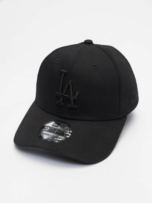 New Era Fitted Cap 3930 League Essential LA Dodgers schwarz