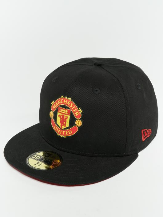 62e33498e2eca ... New Era Fitted Cap Essential Manchester United FC 59 Fifty zwart ...