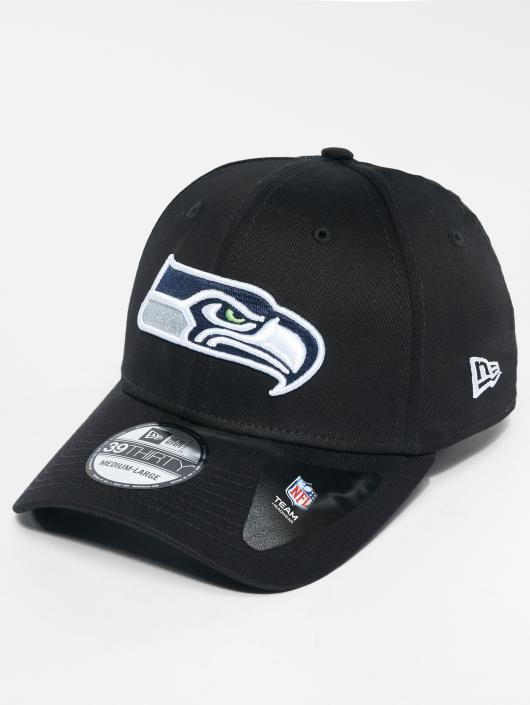 New Era Flexfitted Cap NFL Base Seattle Seahawks èierna