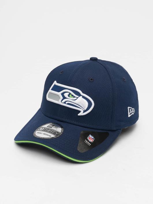 New Era Flexfitted Cap NFL Team Seattle Seahawks 39 Thirty blau