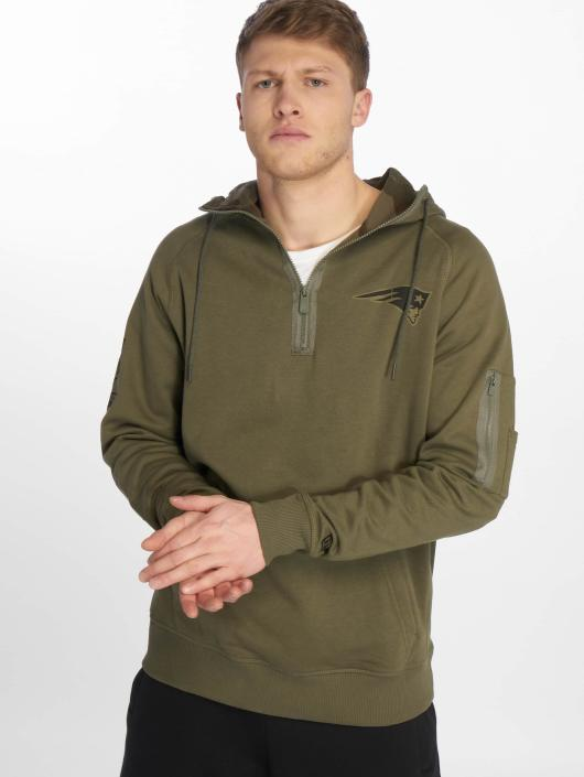 New Era Hoody Nfl Camo Collection New England Patriots olive