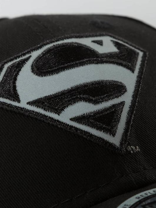 New Era Snapback Cap Reflect Superman 9Forty black