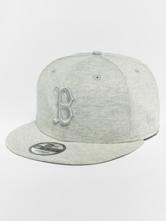 New Era Snapback Cap MLB Essential Bosten Red Sox 9 Fifty grey