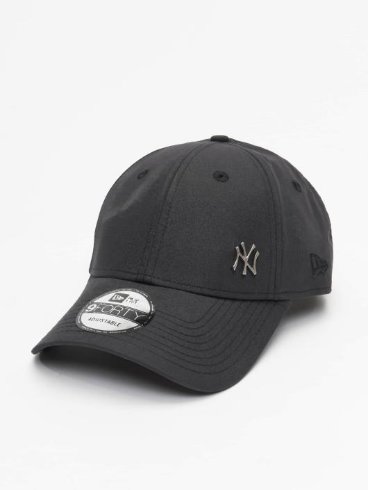 New Era Snapback Cap Flawless Logo Basic NY Yankees 9Forty schwarz
