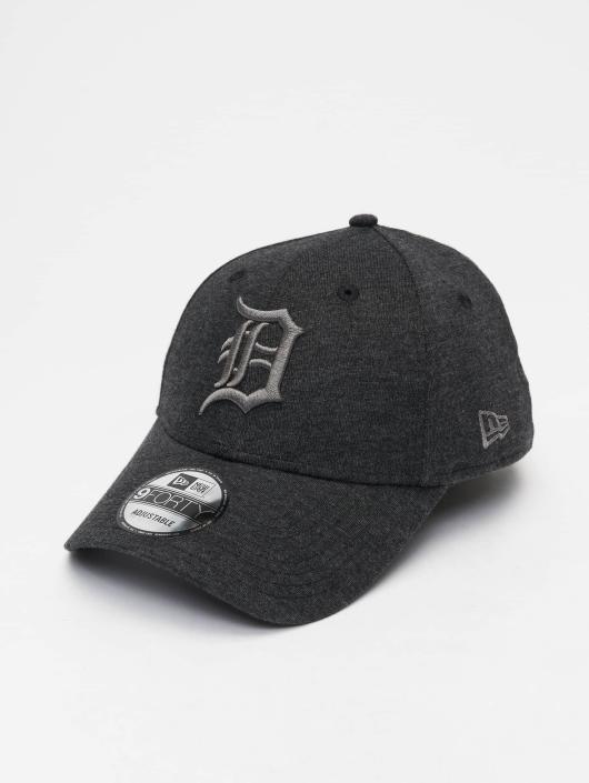 New Era Snapback Caps MLB Jersey Detroit Tigers 9 Fourty grå