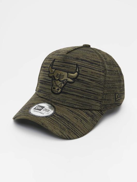 New Era Snapback Caps NBA Engineered Fit Chicago Bulls 9 Fourty Aframe oliwkowy