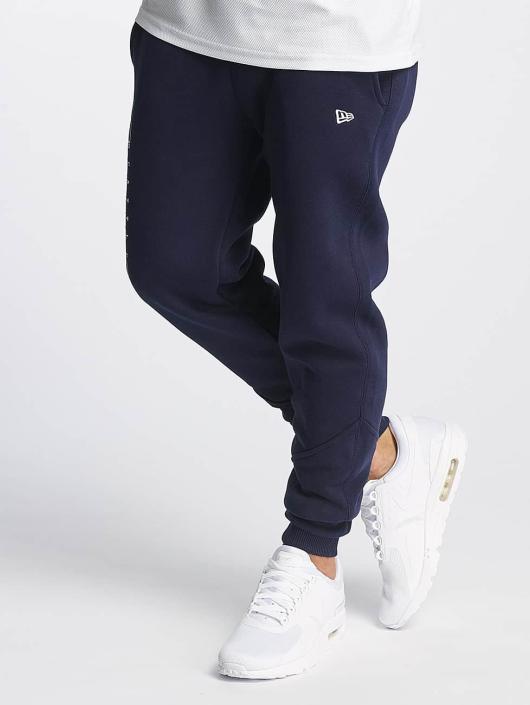 New Era Spodnie do joggingu Team Wordmark Seattle Seahawks Tracker niebieski