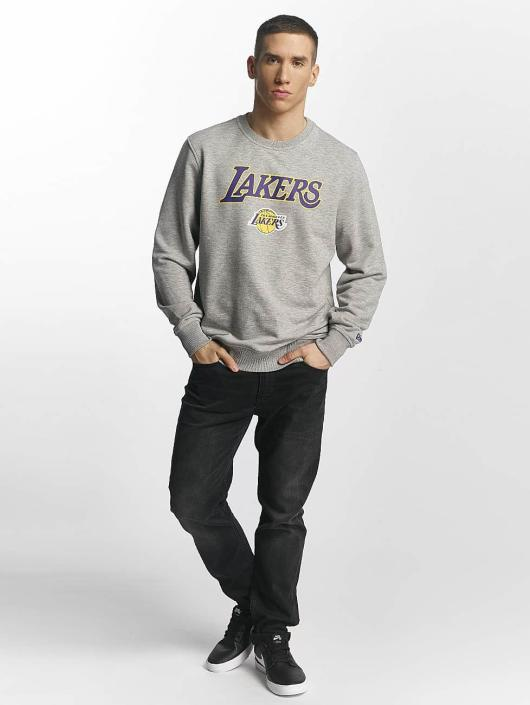 New Era Swetry Tip Off LA Lakers szary