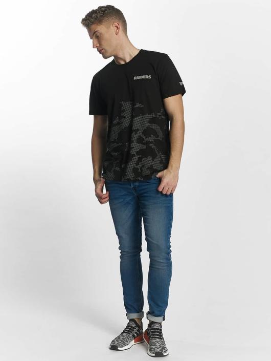 New Era T-paidat Reflective Camo musta