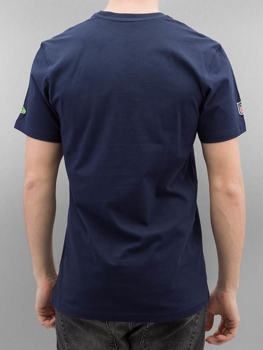 New Era T-Shirt NFL Cap Classic Seattle Seahawks blau