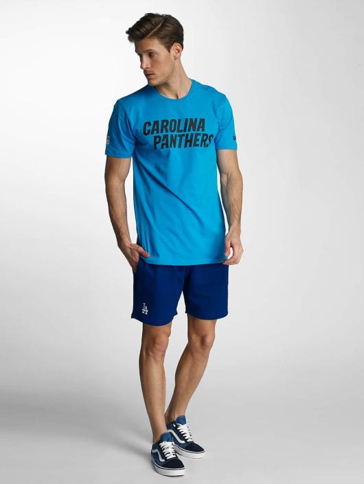 New Era T-Shirt Team App Carolina Panthers Classic blue
