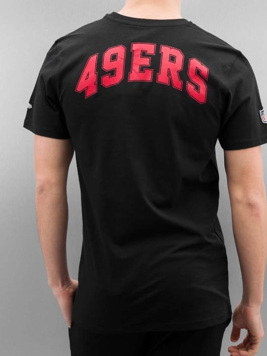 New Era T-Shirt Team Apparel San Francisco 49ers schwarz