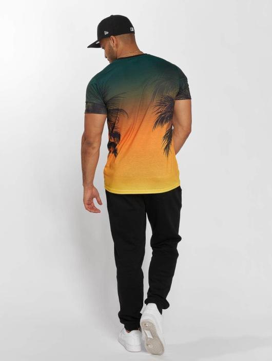 New Era T-Shirt NBA Coastal Heat Miami schwarz
