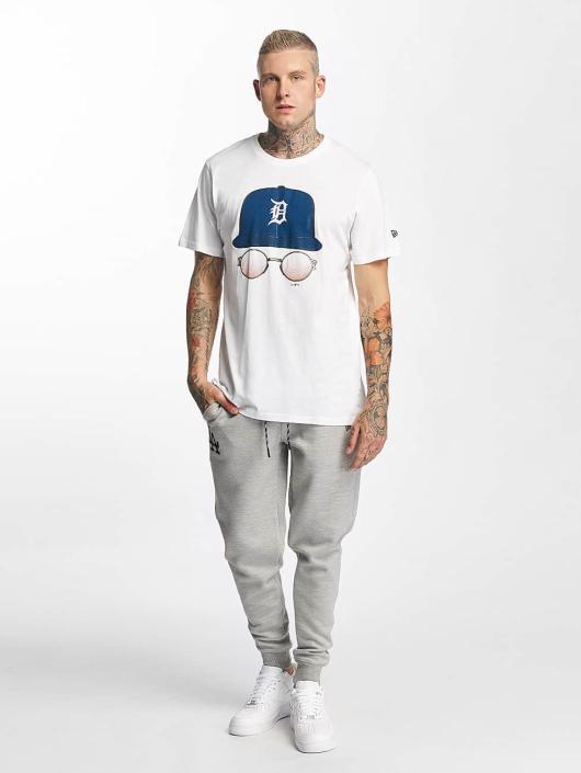 New Era T-Shirt MLB Cap And Shades Detroit Tigers white