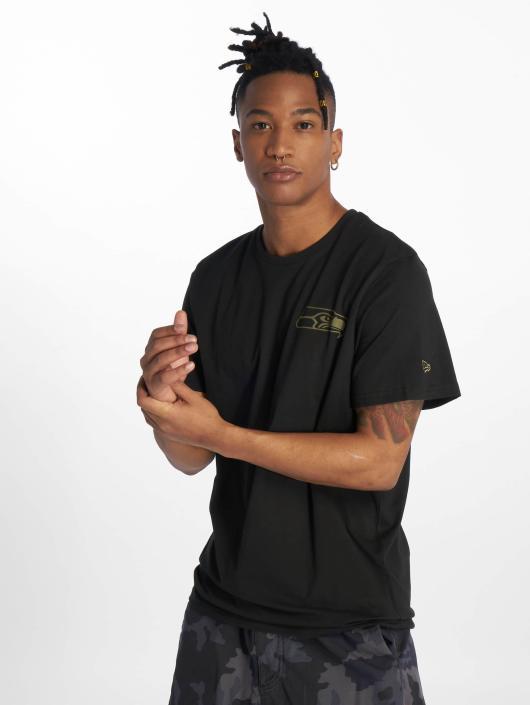 New Era T-Shirty Nfl Camo Collection czarny