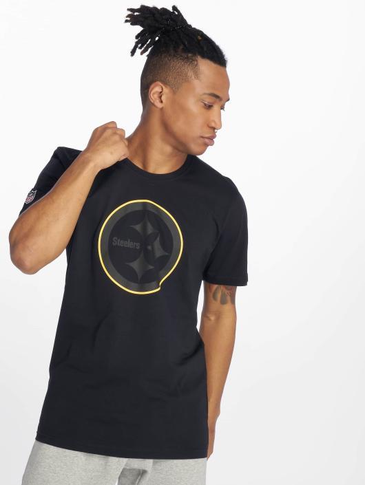 New Era T-Shirty NFL Pittsburgh Steelers czarny