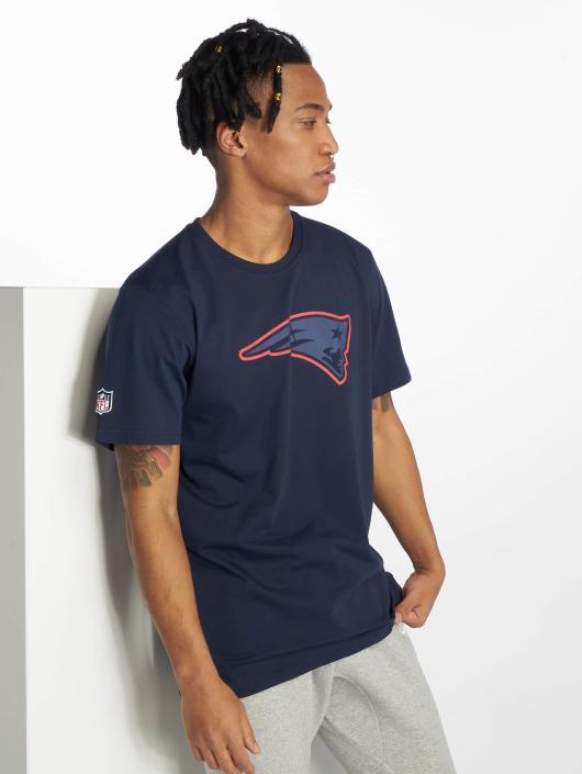 New Era T-Shirty NFL New England Patriots niebieski