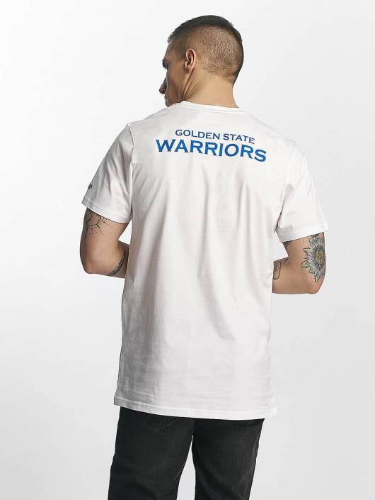 New Era T-skjorter Tip Off Golden State Warriors Chest hvit