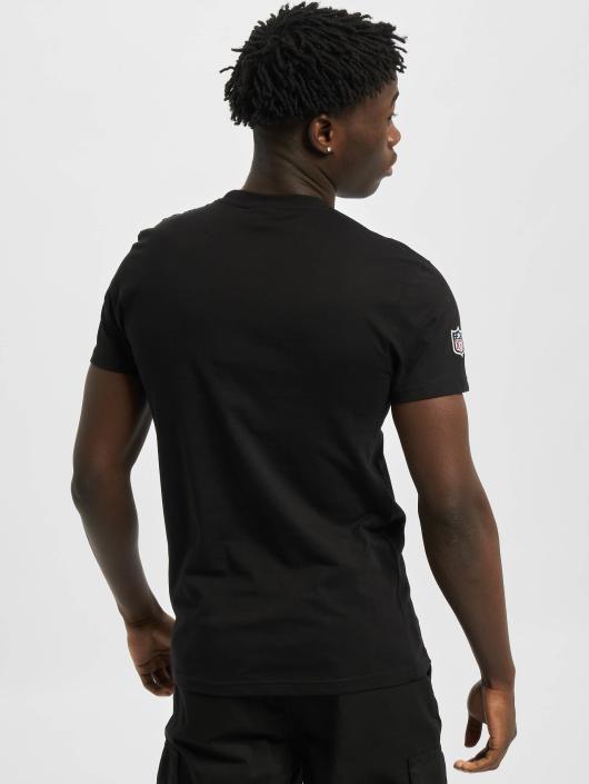 New Era T-skjorter Team Logo Oakland Raiders svart