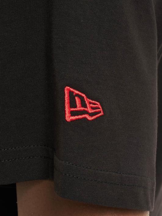 New Era Tričká Team Logo Chicago Bulls èierna