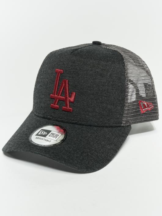 New Era Trucker Cap MLB Essential Los Angeles Dodgers 9 Fourty Aframe grau