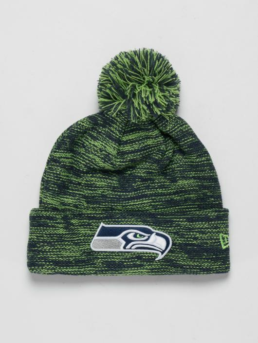 New Era Winter Bonnet NFL Cuff Seattle Seahawks green