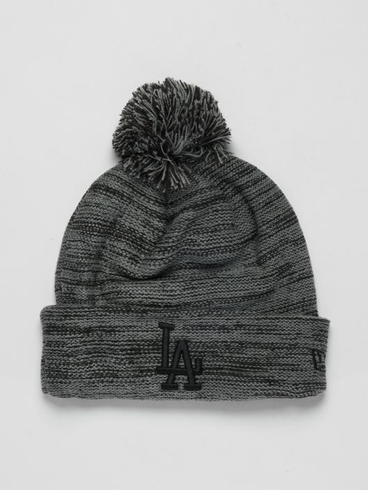 New Era Wollmützen MLB Cuff Los Angeles Dodgers grå