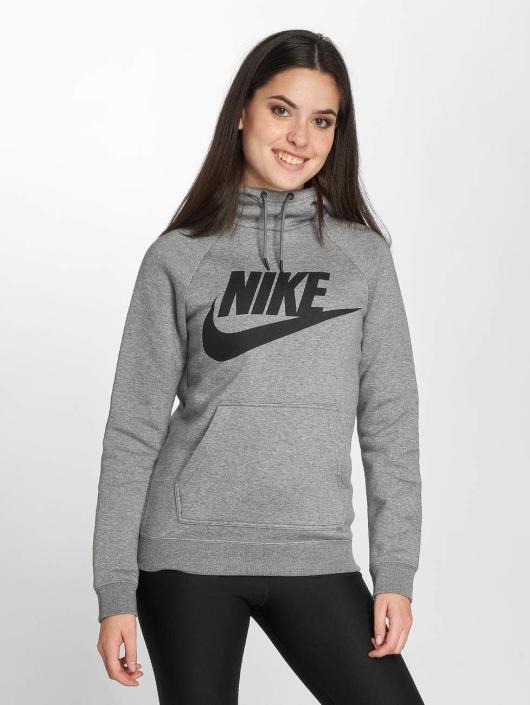 Nike Толстовка AH6492 серый