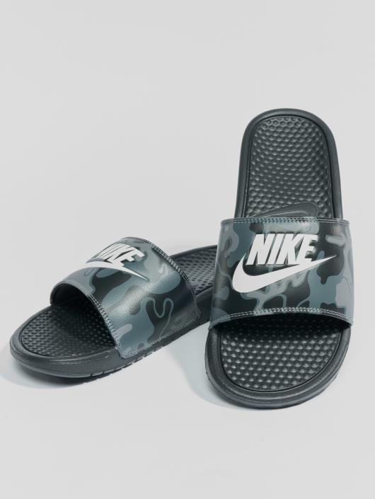 "Nike Badesko/sandaler ""just Do It."" svart"